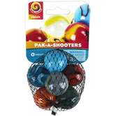 Play Visions, Pak-A-Shooters Marble Shooters, Set of 6