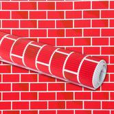 "Pacon Designs Corobuff Paper: Brick (Tu-Tone) - 48"" x 5'"