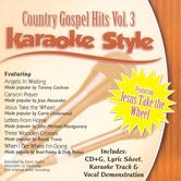 Country Gospel Hits Volume 3, Karaoke Style, As Made Popular by Various Artists, CD+G