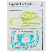 Educators Publishing Service, Explode the Code Book 2, 2nd Edition, Grades 1-3