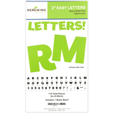 Renewing Minds, Green Bulletin Board Letters, Uppercase, 2 Inches, Green, 110 Pieces