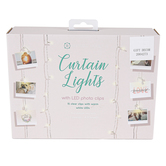 Boutique Home, Curtain Lights with LED Photo Clips, 4 x 7 Foot