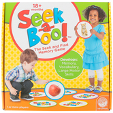 Mindware, Seek-A-Boo Game, Ages 1 to 3 Years Old