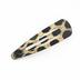 Fashion Tid Bits, Cheetah Print Hair Clips and Hairpins, 12 Pieces