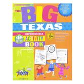 Gallopade, The BIG Texas Reproducible Activity Book, Paperback, 96 Pages, Grades 2-8