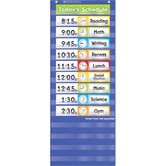 Scholastic, Scheduling Cards, Pocket Chart Add-Ons