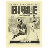 Christian Liberty Press, Journey Through the Bible Book 2 Answer Key, 42 Pages, Grades 8-9