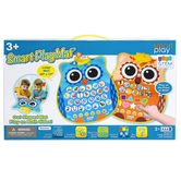 Smart Play, Smart Play Double-Sided Owl Mat, 20 x 17 inches, Ages 3 & Older
