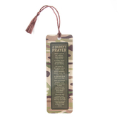 Dickson's Gifts, A Soldier's Prayer Tassle Bookmark, Paper, Camoflauge, 2 x 6 Inches