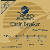 Chain Breaker, Accompaniment Track, As Made Popular by Zach Williams, CD