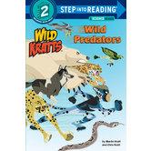 Wild Kratts, Wild Predators, Step Into Reading, Level 2, by Chris Kratt and Martin Kratt, Paperback