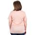 NOTW, Psalm 46:10, Be Still & Know, Men's or Women's Short Sleeve T-Shirt, Peach Heather, 2X-Large