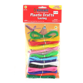 Pepperell Crafts Rexlace Super Value Pack, 200 feet,Assorted Colors