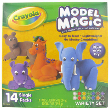 Crayola, Model Magic Variety Pack, Assorted Colors, 7 ounces