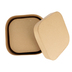Paper Mache Square Rounded Box, Set of 3 with Removable Lids, 5, 6, and 7 x 4-Inches