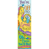 Eureka, Dr. Seuss, Oh, the Places You'll Go! Banner, 12 x 45 inches
