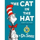 The Cat in the Hat, by Dr. Seuss, Hardcover