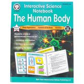 Carson-Dellosa, Interactive Science Notebook The Human Body Resource Book, 64 Pages, Grades 5-8 and up