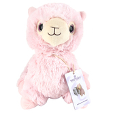 Warmies Cozy Plush Llama, Microwavable, Lavender Scent, Light Pink, 13 inches