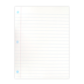 Renewing Minds, Notebook Paper Chart, 17 x 22 inches