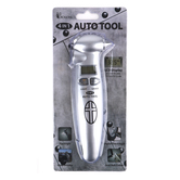 Dicksons, 4-in-1 Emergency Auto Tool, Metal, Silver, 7 1/2 x 2 1/4 Inches