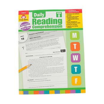 Evan-Moor, Daily Reading Comprehension Grade 8, Paperback, 208 Pages, Grade 8