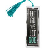 Salt & Light, Let Go and Let God Tassel Bookmark, 2 1/4 x 7 inches
