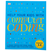DK Books, Help Your Kids With Computer Coding, Revised, Paperback, 224 Pages, Grades 3-Adult