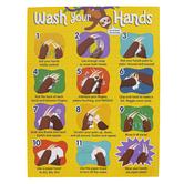 Carson-Dellosa, One World Handwashing Chart, Multi-Colored, 17 x 22 Inches