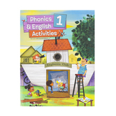 BJU Press, Phonics and English 1 Student Activities Workbook, 4th Edition, Paperback, Grade 1