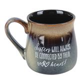 Dexsa, Side By Side Or Miles Apart Coffee Mug, Ceramic, 16 ounces