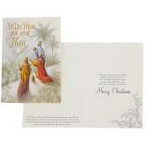 Renewing Faith, Matthew 2:1-2 Wise Men Still Seek Him Boxed Christmas Cards, Gray/Gold, 4 1/2 x 6 1/2 inches, 18 cards