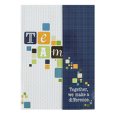 CTA, Inc., Celebrating Your Faith and Service Magnetic Team Notebook, 6 x 8.25 Inches
