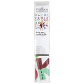 Wallies®, Alphabet Fun Vinyl Decals, Assorted Colors, 2 Sheets, 52 Pieces