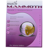 Math Mammoth, Grade 1 Answer Key, Light Blue Series by Maria Miller, Paperback, Grade 1