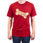 Paws & Praise, Friends Dog Biscuit, Men's Short Sleeve T-Shirt, Red, S-2XL