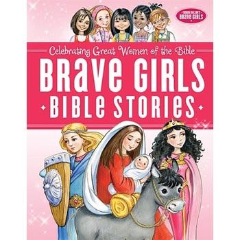 Brave Girls Bible Stories, by Jennifer Gerelds, Olga Ivanov, and Aleksey Ivanov, Hardcover