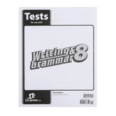BJU Press, Writing & Grammar 8 Tests (3rd Edition)