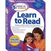 Hooked on Phonics, Learn to Read Level 4: Emergent Readers, Kindergarten, Box Set, Ages 4-6