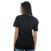 NOTW, Love Like Jesus, Women's Short Sleeve T-Shirt, Black Heather, X-Small