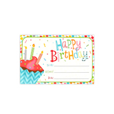 Renewing Minds, Happy Birthday Certificates, Multi-Colored, 8.5 x 6.5 Inches, 30 Count