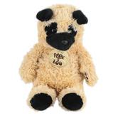 Aurora, Peek A Boo, Pug Stuffed Animal, 12 inches