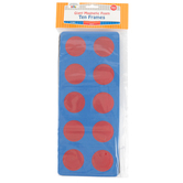 Learning Advantage, Giant Magnetic Foam Ten Frames Set, 22 Pieces, Pre-K to 2nd Grade