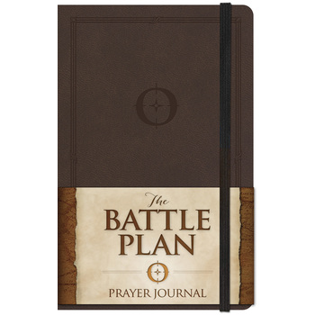 The Battle Plan Prayer Journal, Large Edition, by Alex Kendrick and Stephen Kendrick