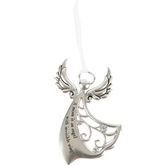Ganz, Mom Is An Angel With Invisible Wings Ornament, Zinc Alloy, Silver, 2 1/4 x 3 1/2 inches