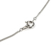 H.J. Sherman, Cross, Women's Necklace, Sterling Silver and Cubic Zirconia, 18 inches