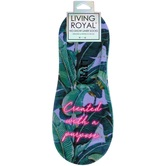 Living Royal, Created With A Purpose Liner Socks, Polyester, Green and Purple, One Size Fits Most