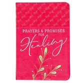Prayers & Promises for Healing, by Joan Hunter, Imitation Leather, Red