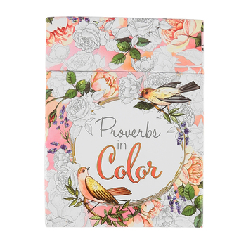 Christian Art Gifts, Proverbs in Color, Cards To Color and Share, 44 Cards