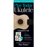 Hal Leonard, Play Today Ukulele Complete Kit, 4 Pieces